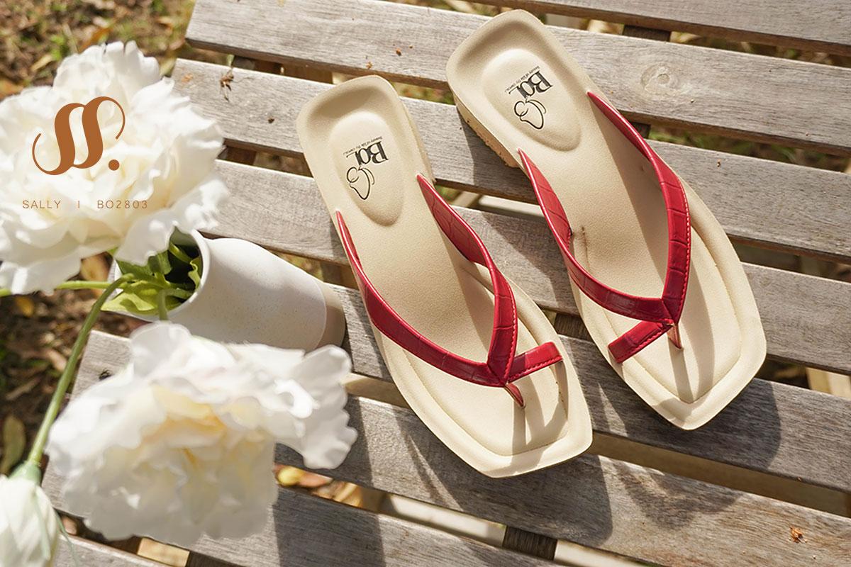 รองเท้าเพื่อสุขภาพ-เดอบลู-BO02803Sally
